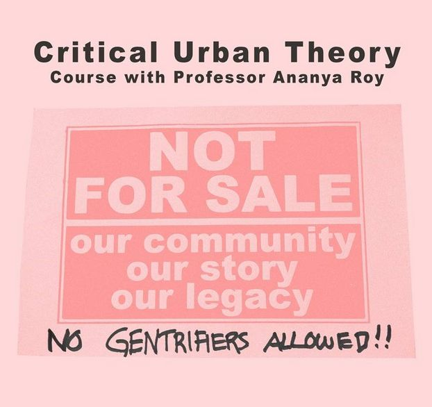 Flyer Critical Urban Theory